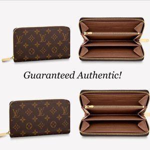 💎✨BEAUTIFUL✨💎LV Portefeuille Zippy Long Wallet